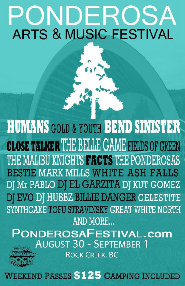 Ponderosa Arts & Music Festival